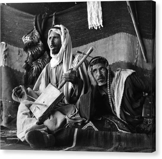 Bedouin Arabs Canvas Print by Three Lions