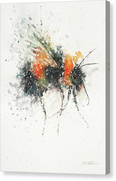 Canvas Print - Bee Study by John Silver