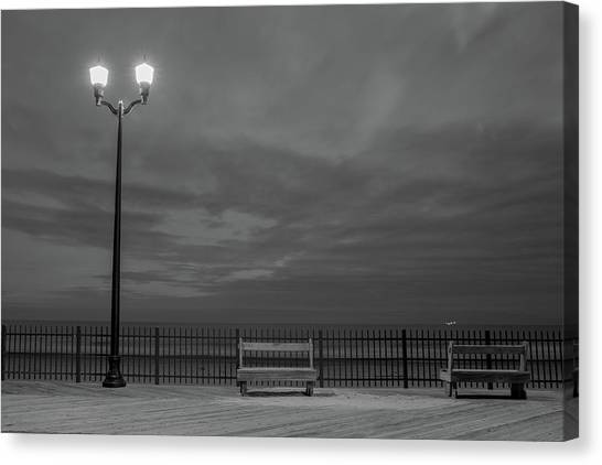 Before Dawn On The Boards Canvas Print