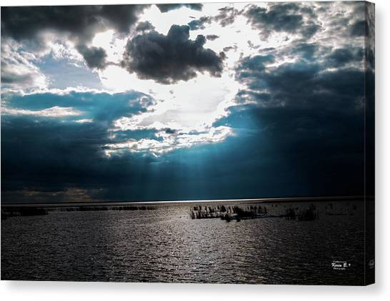 Beginning Of The End Of The Day Canvas Print