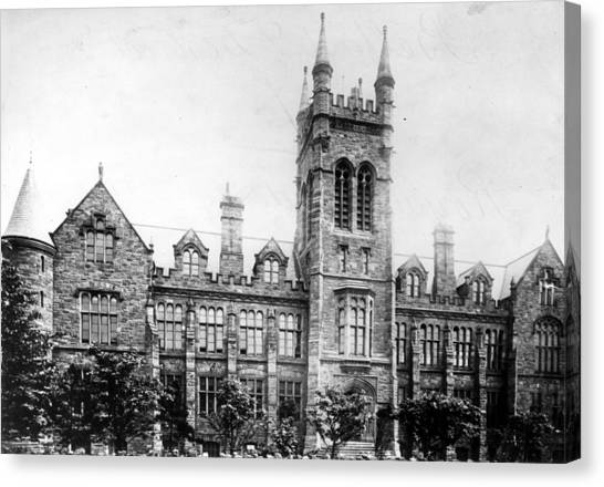 Belfast Academy Canvas Print by Hulton Archive