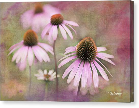 Canvas Print - Believe And Beat Cancer by Peg Runyan