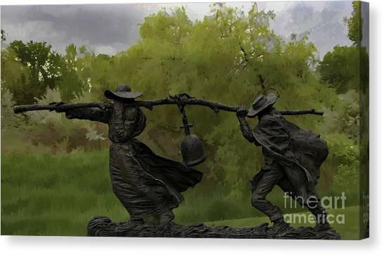 Bell Keepers In A Storm Canvas Print