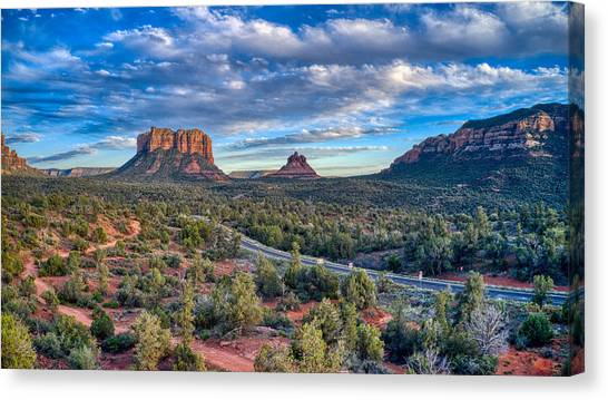 Bell Rock Scenic View Sedona Canvas Print
