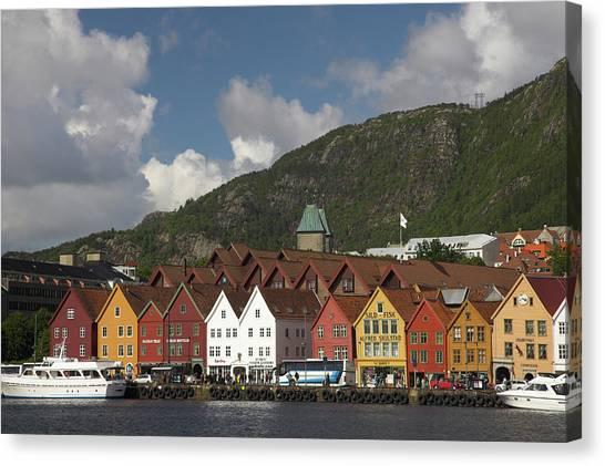 Bergen, Hordaland, Norway Canvas Print