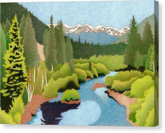 Berthoud Pass Canvas Print