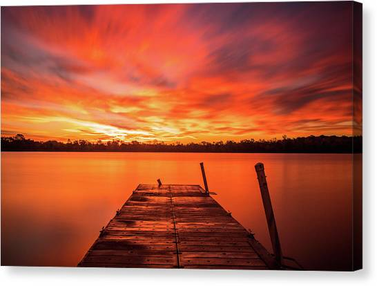 Canvas Print featuring the photograph Beyond by Dan Sproul