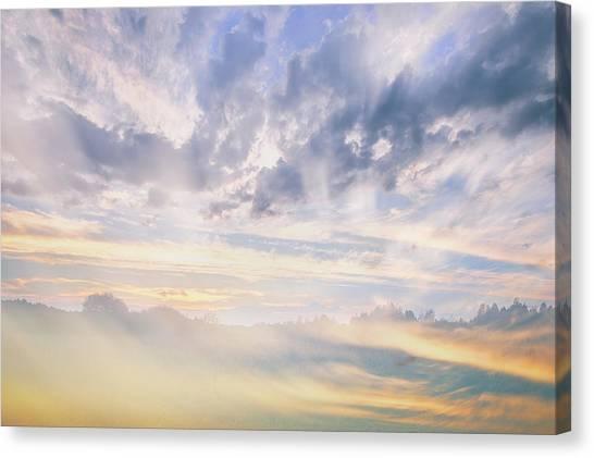 Beyond The Sky St. 2. Shchymel, 2018. Canvas Print