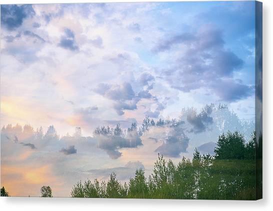Beyond The Sky St. 3. Shchymel, 2018. Canvas Print