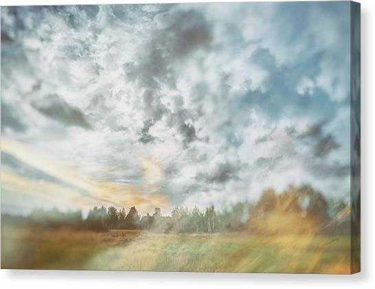 Beyond The Sky St. 4. Shchymel, 2018. Canvas Print