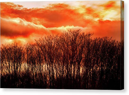 Bhrp Sunset Canvas Print