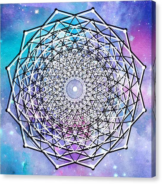 Canvas Print featuring the digital art Big Bang by Bee-Bee Deigner