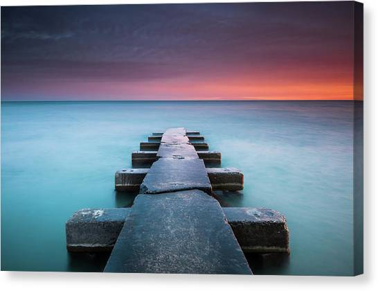Big Bay Canvas Print