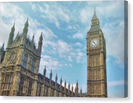 Canvas Print featuring the photograph Big Ben by JAMART Photography