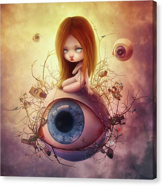 Big Brother Canvas Print - Big Brother by Mario Sanchez Nevado