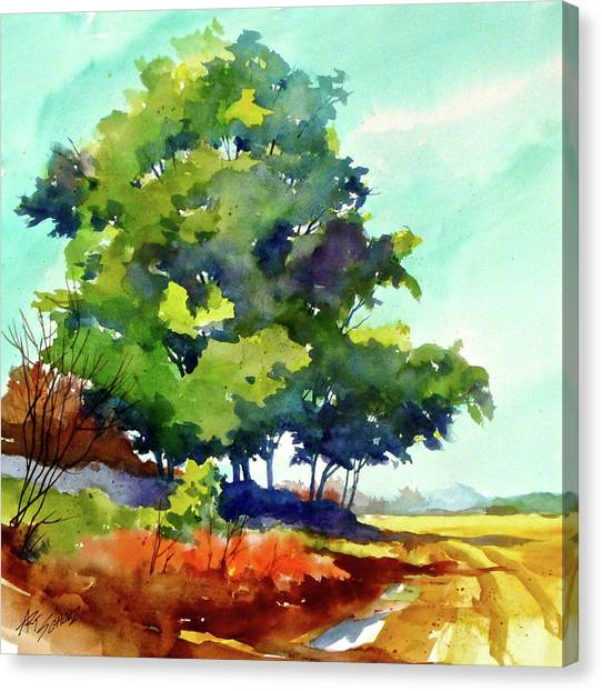 Big Green Canvas Print by Art Scholz