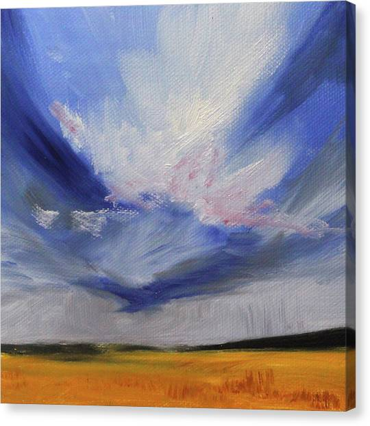 Big Sky Canvas Print - Big Sky by Nancy Merkle
