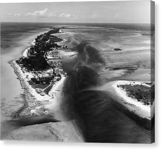 Bimini Aerial Canvas Print by Pictorial Parade