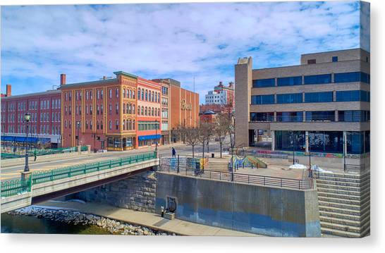 Binghamton Art Canvas Print