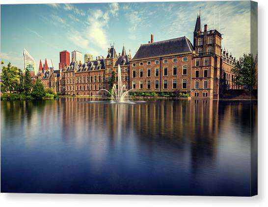 Binnenhof, The Hague Canvas Print