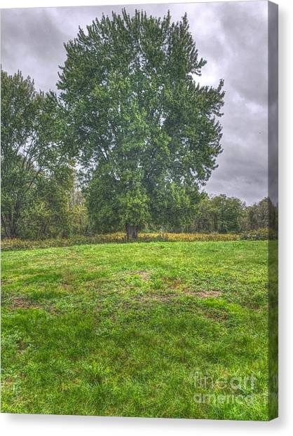 Blacklick Circle Earthwork Canvas Print