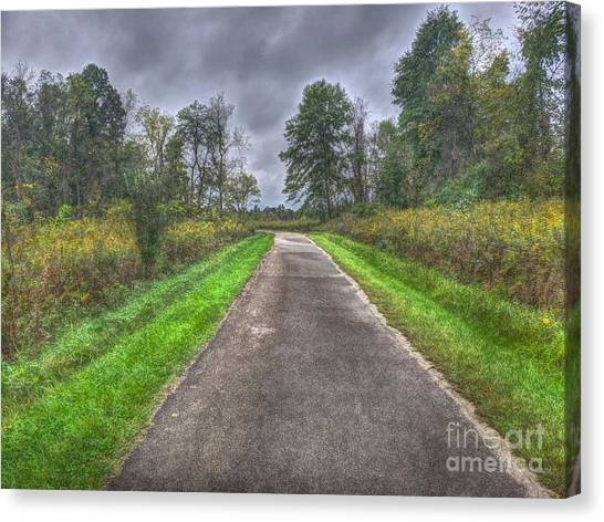 Blacklick Woods Pathway Canvas Print