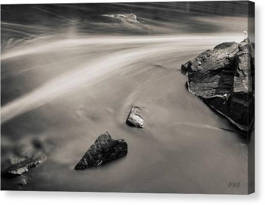 Blackstone River II Albion Toned Canvas Print by David Gordon