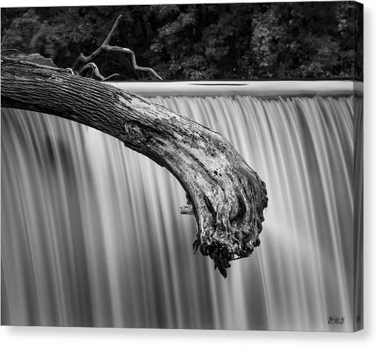 New England Revolution Canvas Print - Blackstone River Xi Bw by David Gordon
