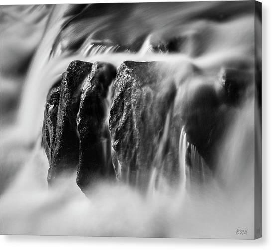 New England Revolution Canvas Print - Blackstone River Xiii  Bw by David Gordon