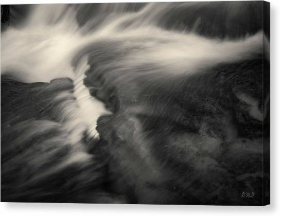 Blackstone River Xxv  Toned Canvas Print by David Gordon