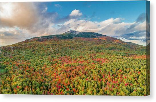 Blanketed In Color Canvas Print