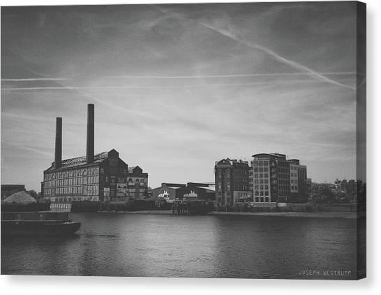Bleak Industry Canvas Print