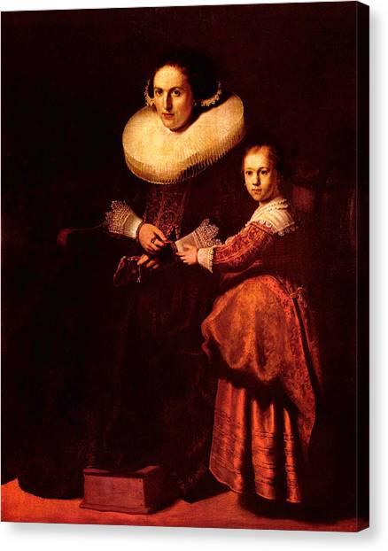 Blend I Rembrandt Canvas Print