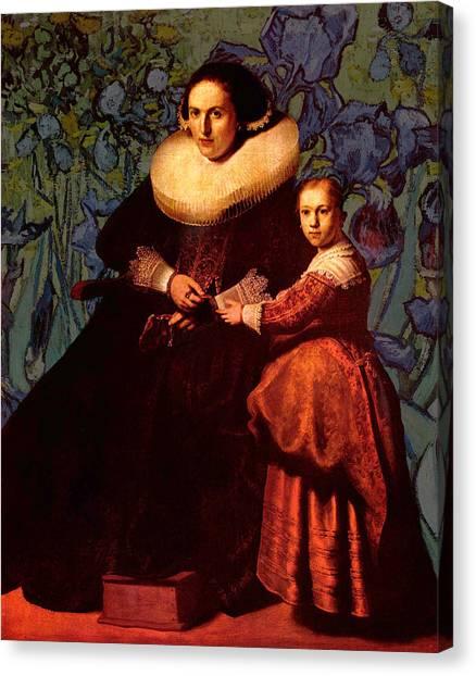Blend II Rembrandt Canvas Print
