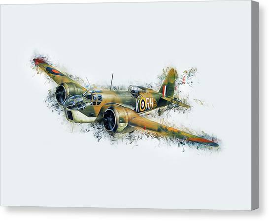 Blenheim Bomber Canvas Print