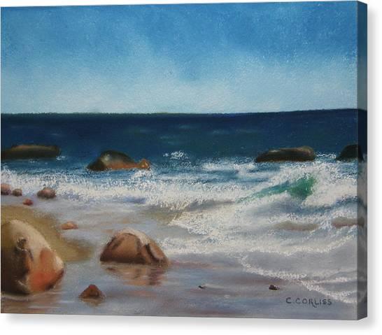 Block Island Surf Canvas Print