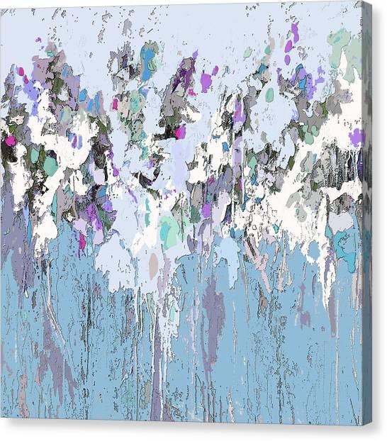 Blue Bloom II Canvas Print