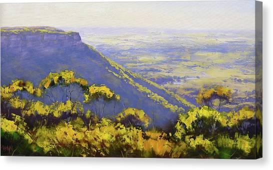 Sister Canvas Print - Blue Mountains Australia by Graham Gercken