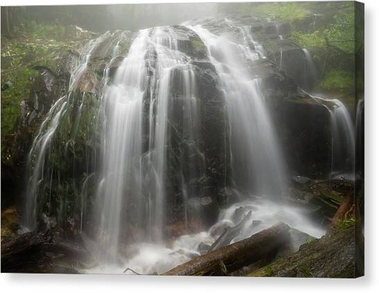 Blue Ridge Mountain Falls Canvas Print