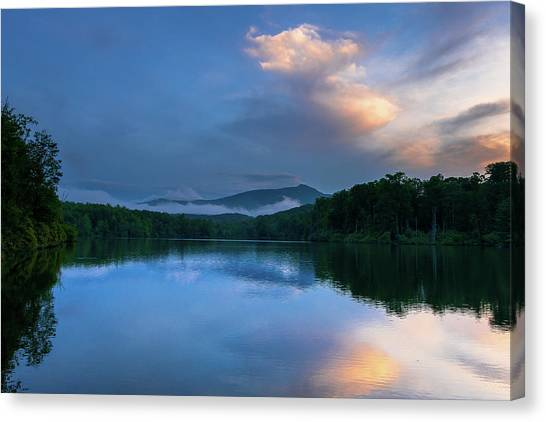 Blue Ridge Parkway - Price Lake - North Carolina Canvas Print