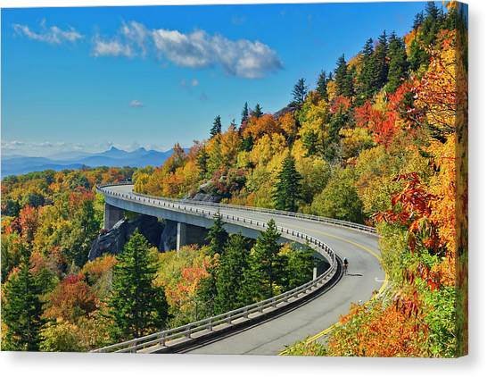 Blue Ridge Parkway Viaduct Canvas Print