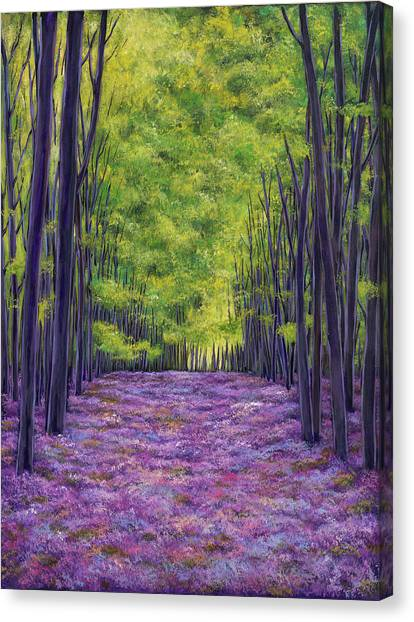 Florence Canvas Print - Bluebells And Daydreams by Johnathan Harris