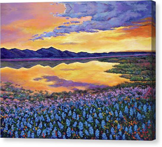 Colorado Canvas Print - Bluebonnet Rhapsody by Johnathan Harris
