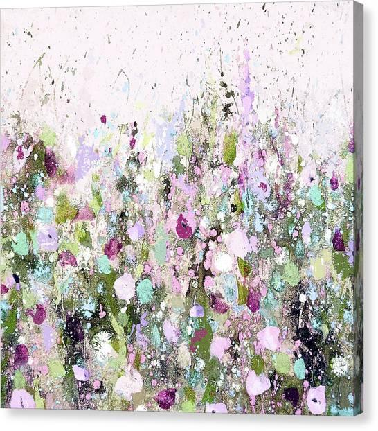 Blush Meadow Canvas Print