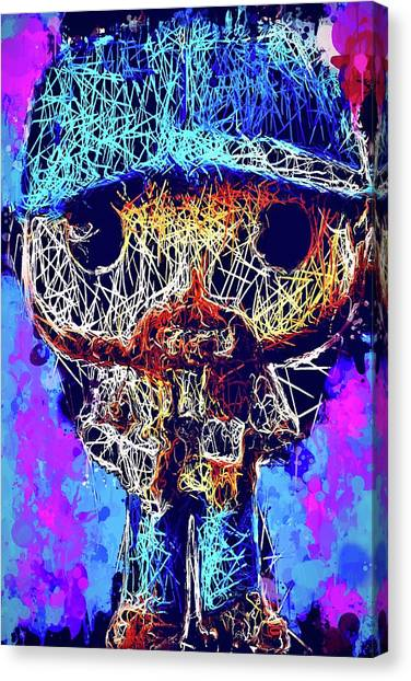 Bobby Supernatural Pop Canvas Print