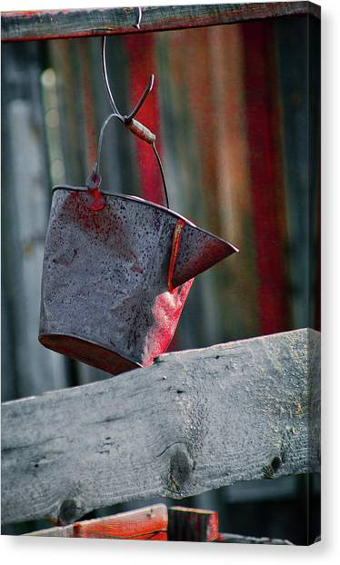 Canvas Print featuring the photograph Bodie 52 by Catherine Sobredo