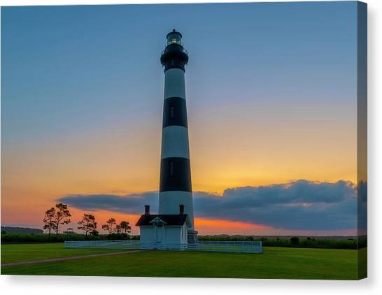 Bodie Island Lighthouse, Hatteras, Outer Bank Canvas Print