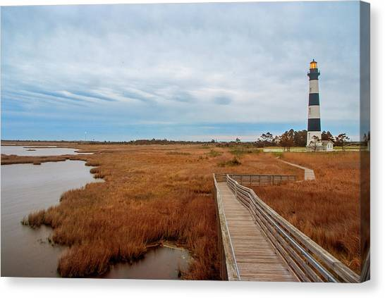 Bodie Island Lighthouse No. 3 Canvas Print