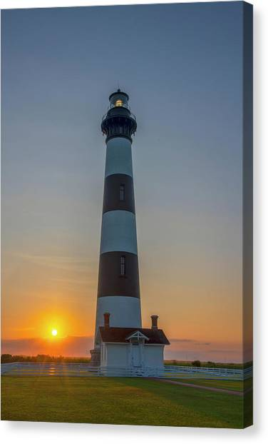 Bodie Island, Sunrise, Obx Canvas Print