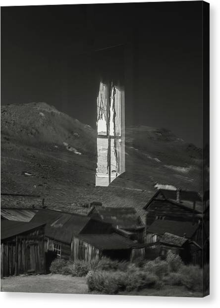 Bodie Reflections Canvas Print by Joseph Smith